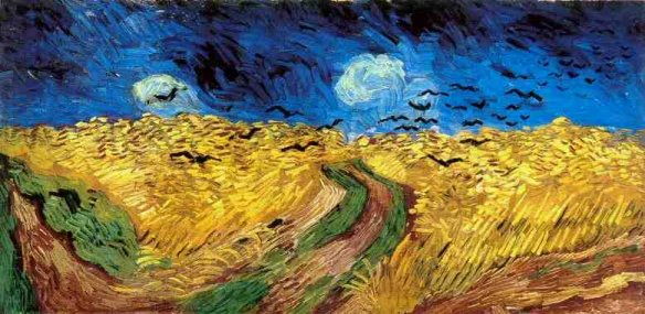 """essay on van gogh painting Van gogh's painting """"starry night"""" is one of the most controversial, mysterious and enchanting works that glorify the beauty of night sky van goghs starry became for him a kind of psychological therapy that helped to defeat depression, frustration, and tension."""